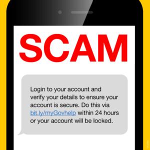 myGov SMS Scam